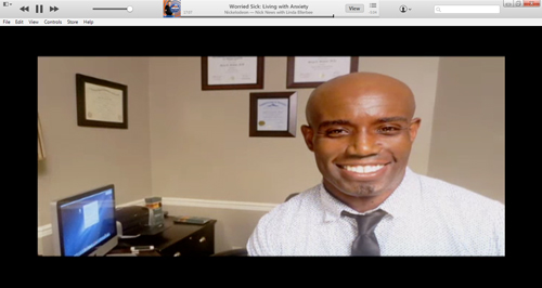 "Dr. Chapman on Nickelodeon ""Worried Sick"""